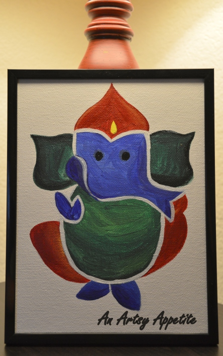 Ganesha Canvas Art
