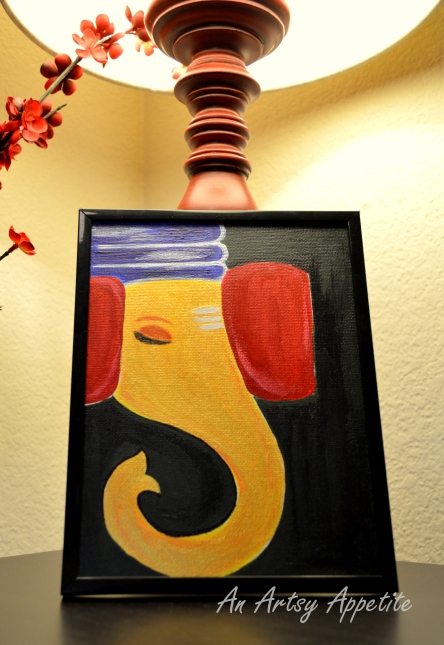 Ganesha Canvas Painting