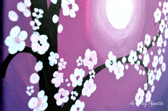 Cherry Blossom Canvas Painting