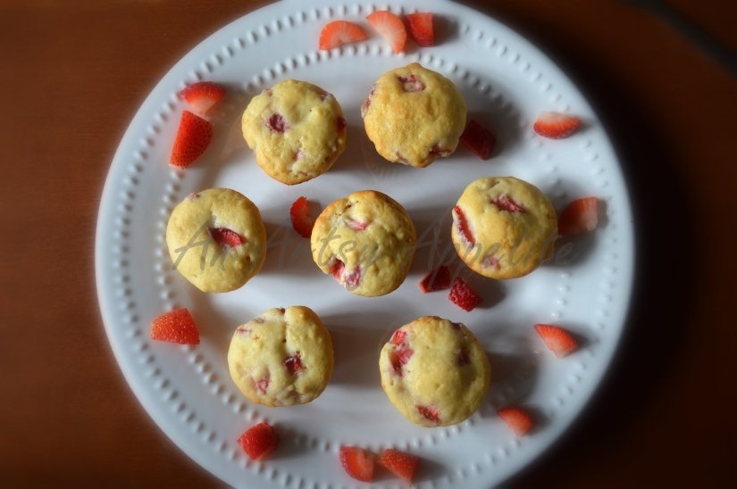Strawberry Mini Muffins Recipe