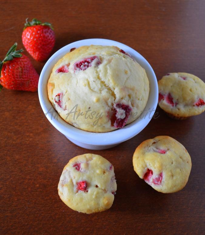 Strawberry Mini Muffins Recipe