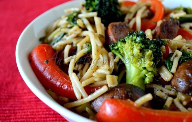 Healthy Quick No-Sauce Pasta Recipe