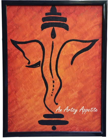 Ganesha Canvas Art