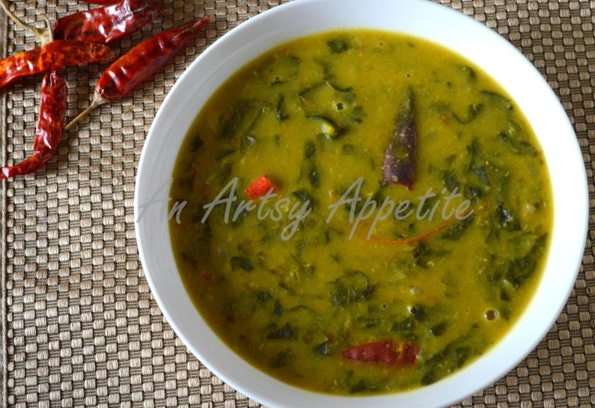 Dal Palak (Spinach Lentil Soup)