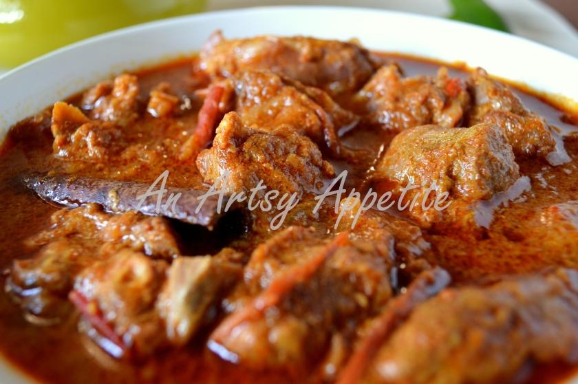 Goat Curry in Spicy Yogurt Sauce Recipe