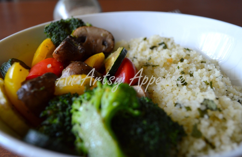 This couscous can be a side to any of your favorite dish, be it vegetables, meat or fish.