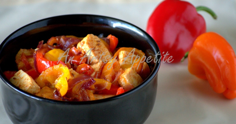 Indian Paneer with Peppers Recipe