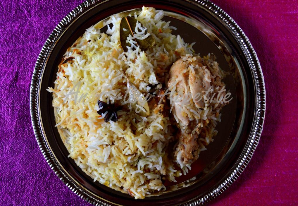 Oven-cooked Chicken Biryani