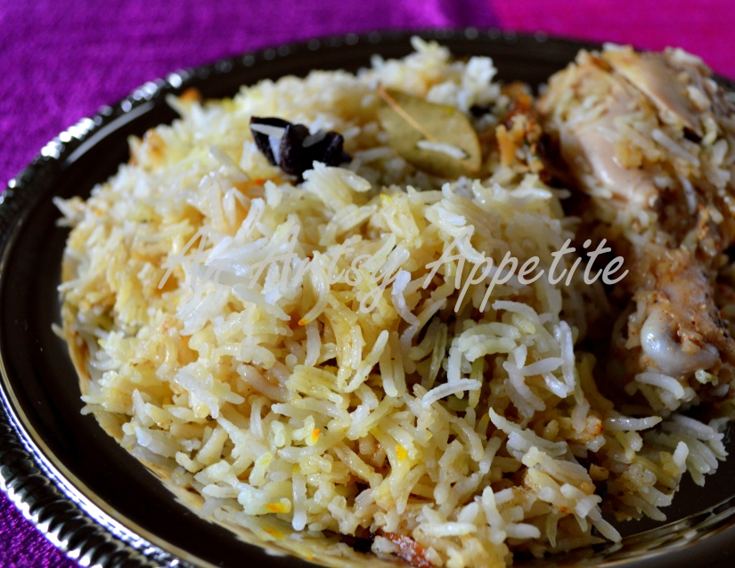 Oven-cooked Chicken Biryani