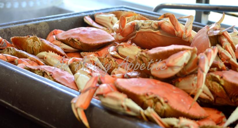 Dungeness Crab at SF Fisherman Wharf