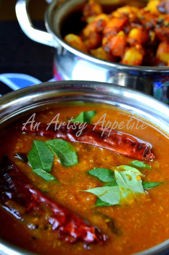 Sambar Recipe ~ South Indian Lentil Soup