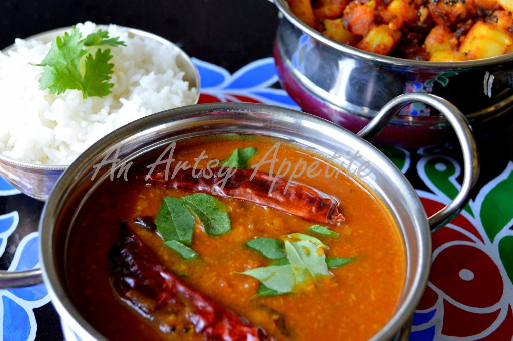 Sambar Recipe ~ South Indian Lentil Soup