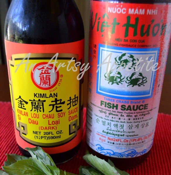 Thai basil fried rice or khao pad horapa an artsy appetite for Soy sauce fish