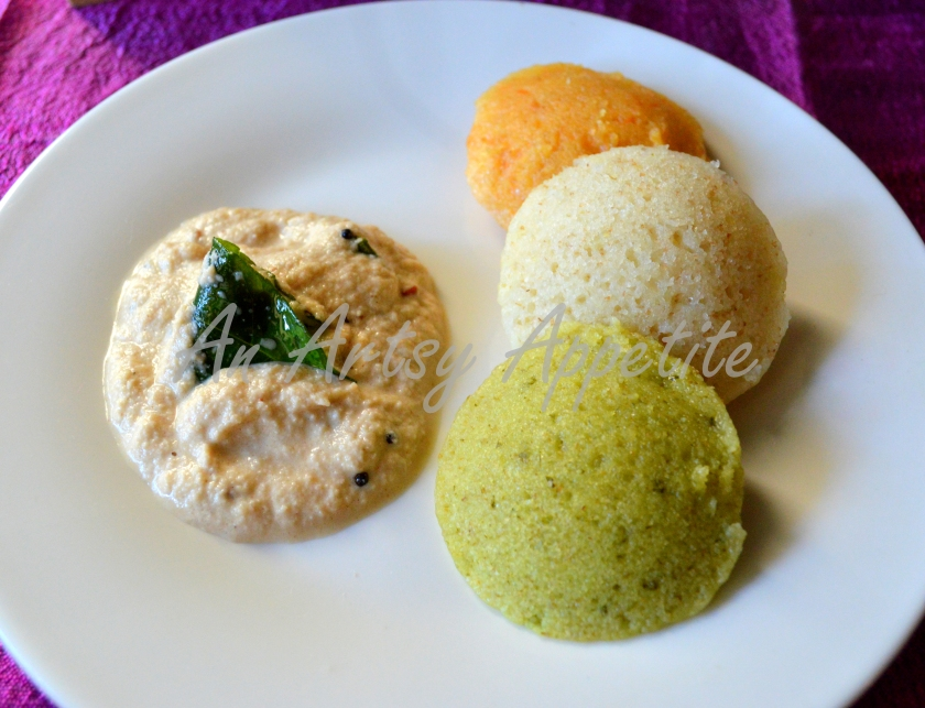 Rava Idli, savory semolina cakes recipe