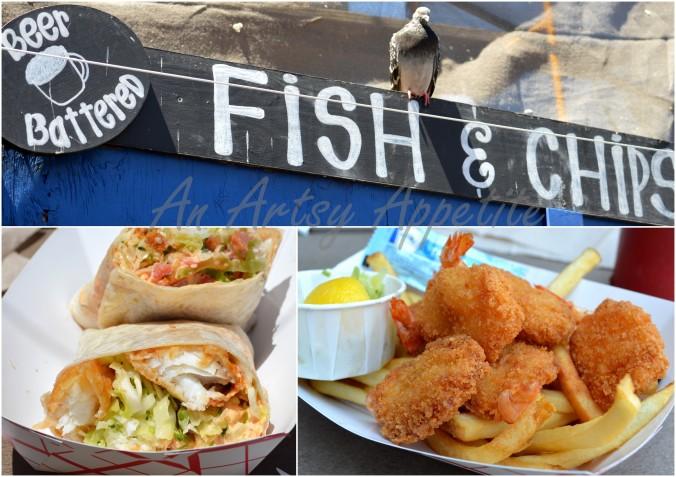 Fried Fish at SF Fisherman Wharf