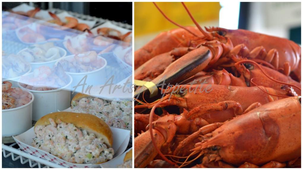 Seafood at SF Fisherman Wharf
