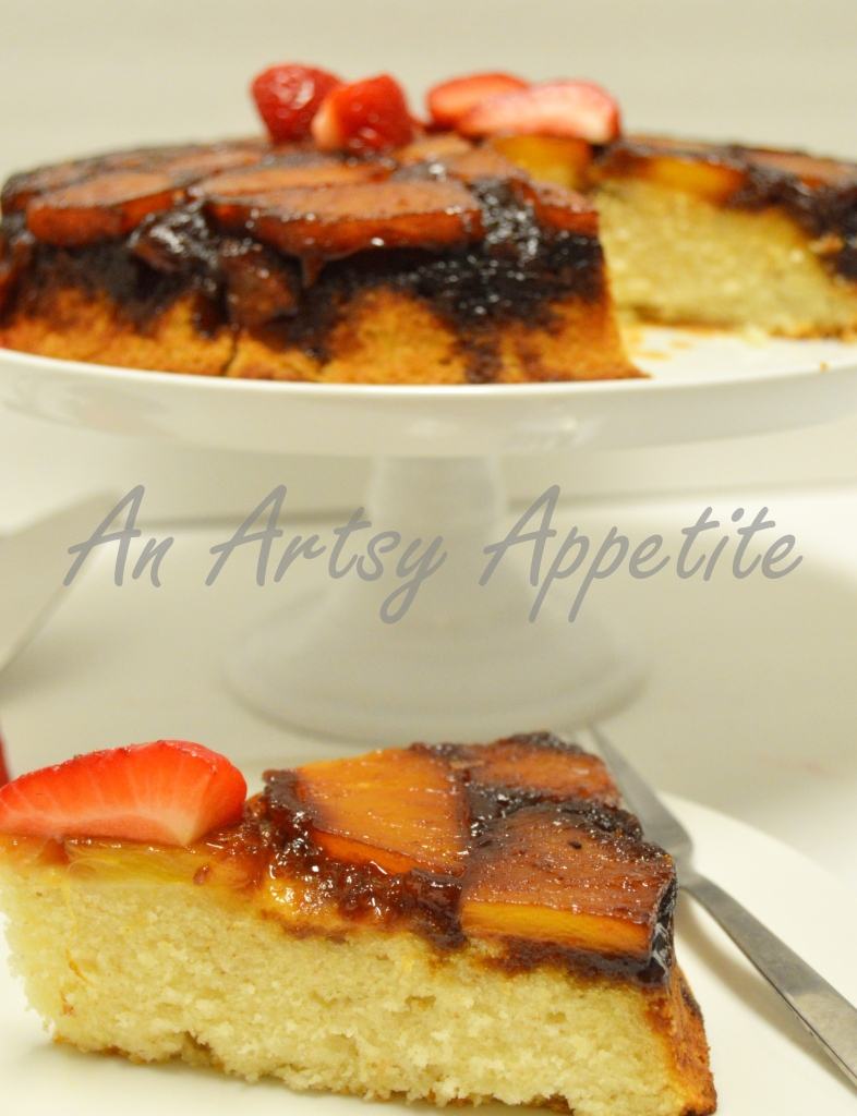 Dark Caramel Pineapple Upside Down Cake Recipe
