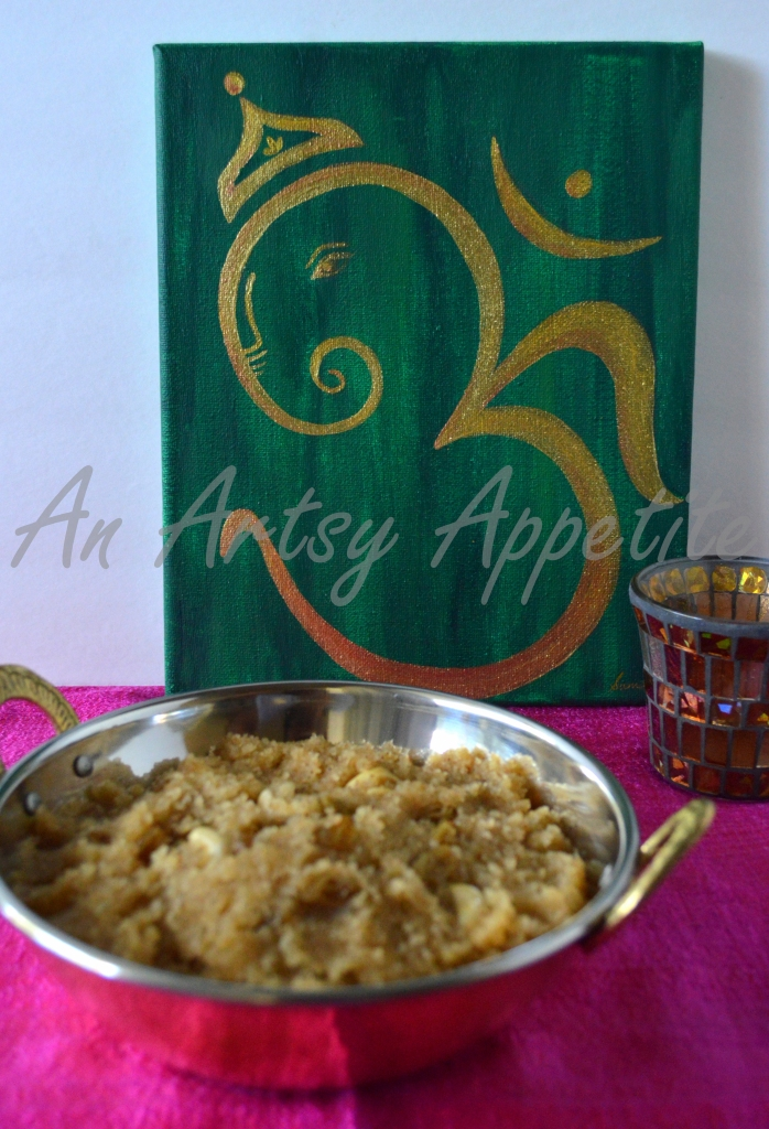 Sooji Halwa Recipe or sweet semolina pudding recipe