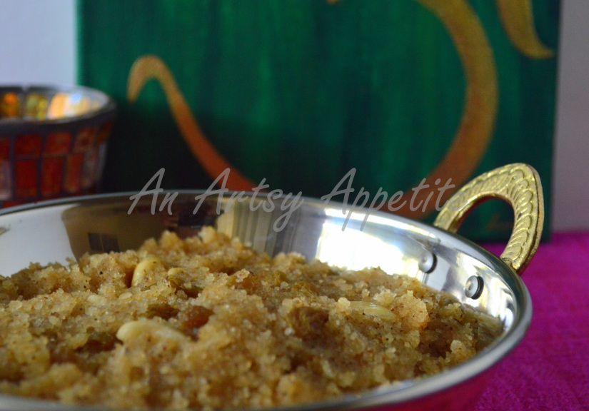 Sooji Halva Recipe or sweet semolina pudding recipe