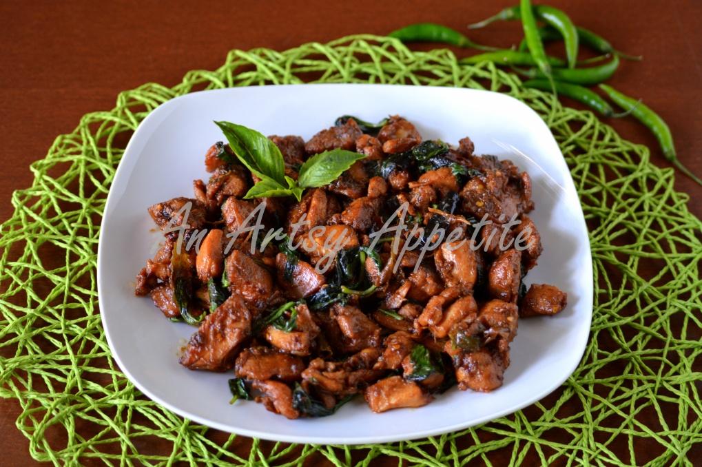 Thai Basil Chicken Recipe, pad kra pao gai Recipe