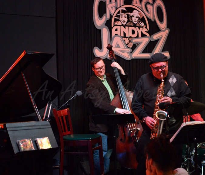 Chicago travel and live jazz music, Andy's Jazz Club and Restaurant