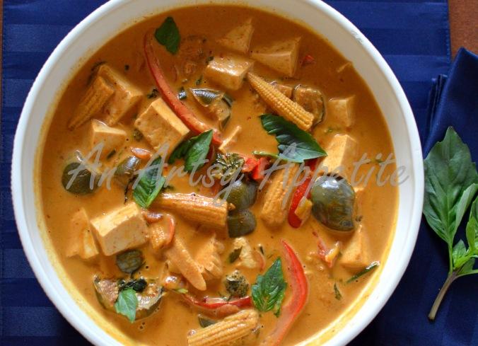 Thai Red Curry Vegetarian Recipe