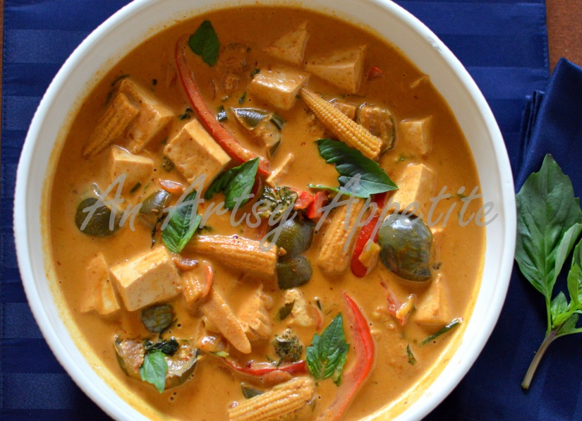 Thai Red Curry Vegetarian Recipe