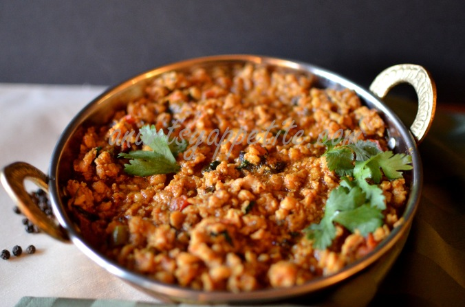 Chicken Keema Masala Recipe, Indian Minced Chicken Recipe