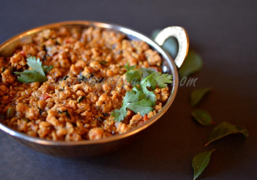 Chicken Keema Masala Recipe, Minced Chicken Recipe