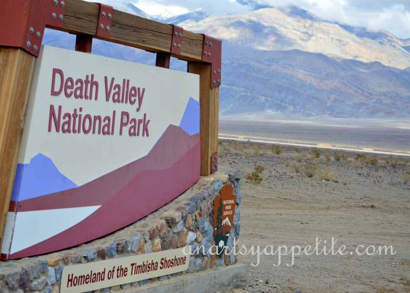 Welcome to Death Valley, CA, travelogue