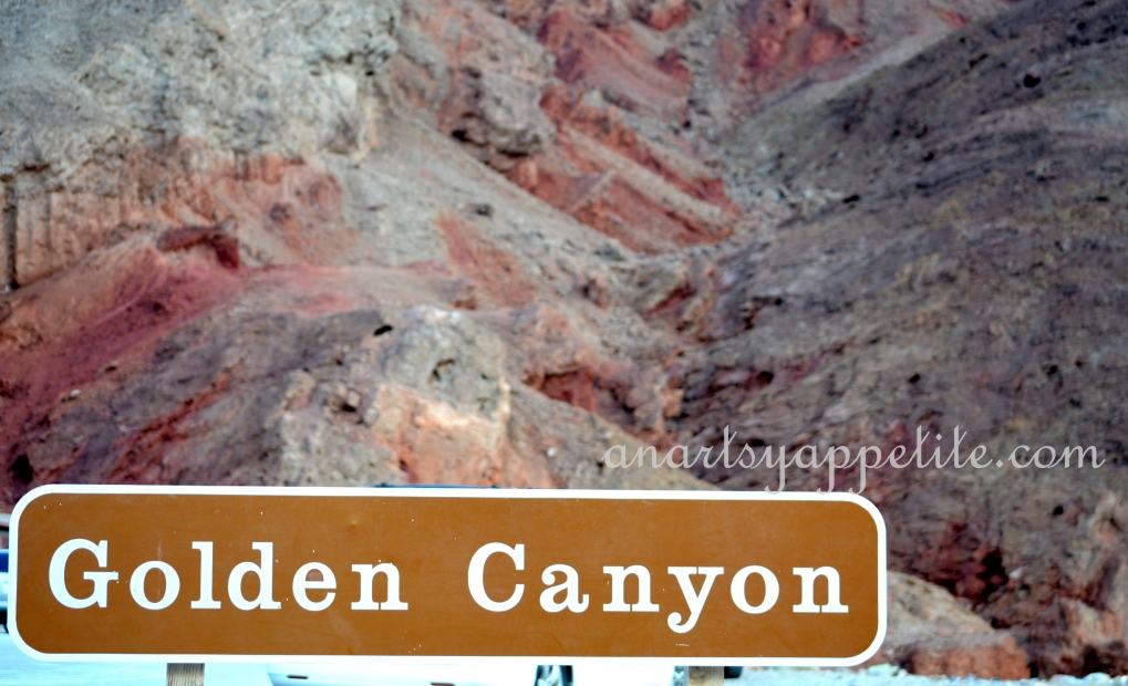 Golden Canyon, Death Valley, CA travel pictures