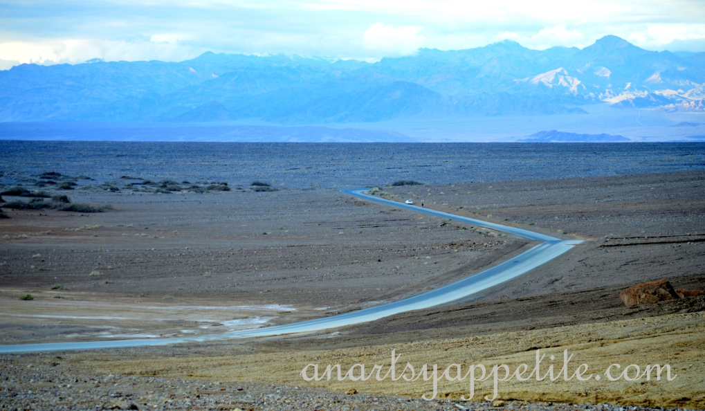 View of Death Valley, CA, road trip