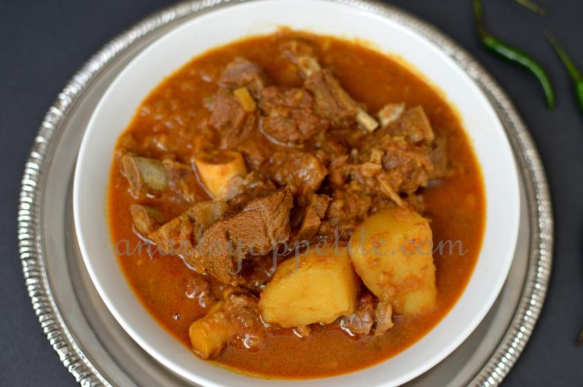 engali goat meat mutton stew recipe