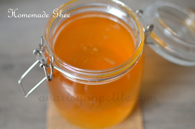 How to Make Ghee, How to make homemade ghee, healthy recipe, weight loss remedy ghee