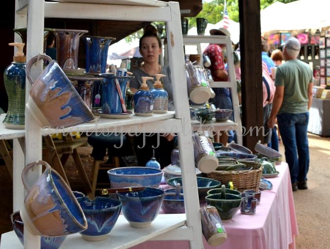 ceramic shops, local sellers, local craftsmen