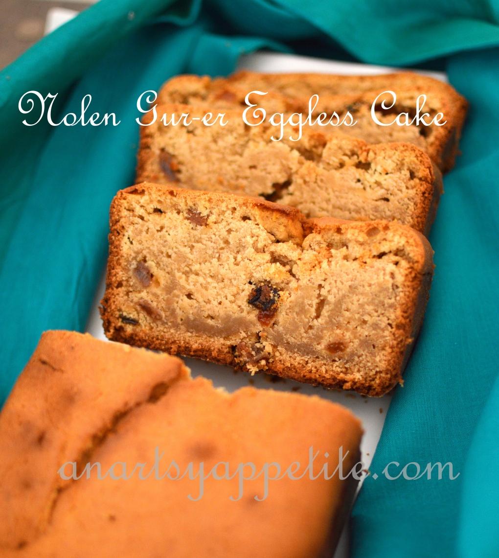 different recipe with nolen gur, nolen gur cake recipe, eggless cake recipe, indian bakeries eggless cake recpe