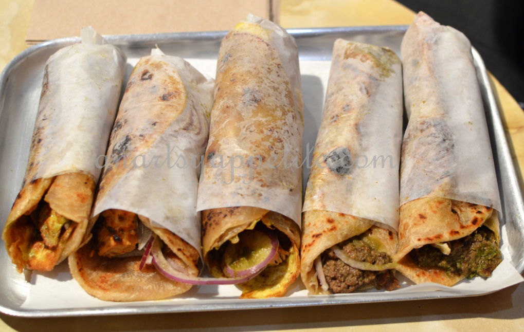 The Kati Roll Company New York Review, Calcutta Rolls in USA, Kolkata kati roll