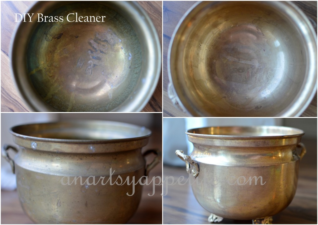 Brass Planters Diy Natural Chemical Free Brass Cleaner For
